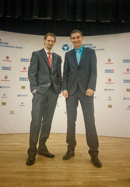 Jan Rybařík a Lukáš Polanský
